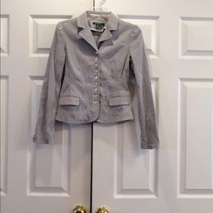 Lauren Ralph Lauren Button Up Jacket